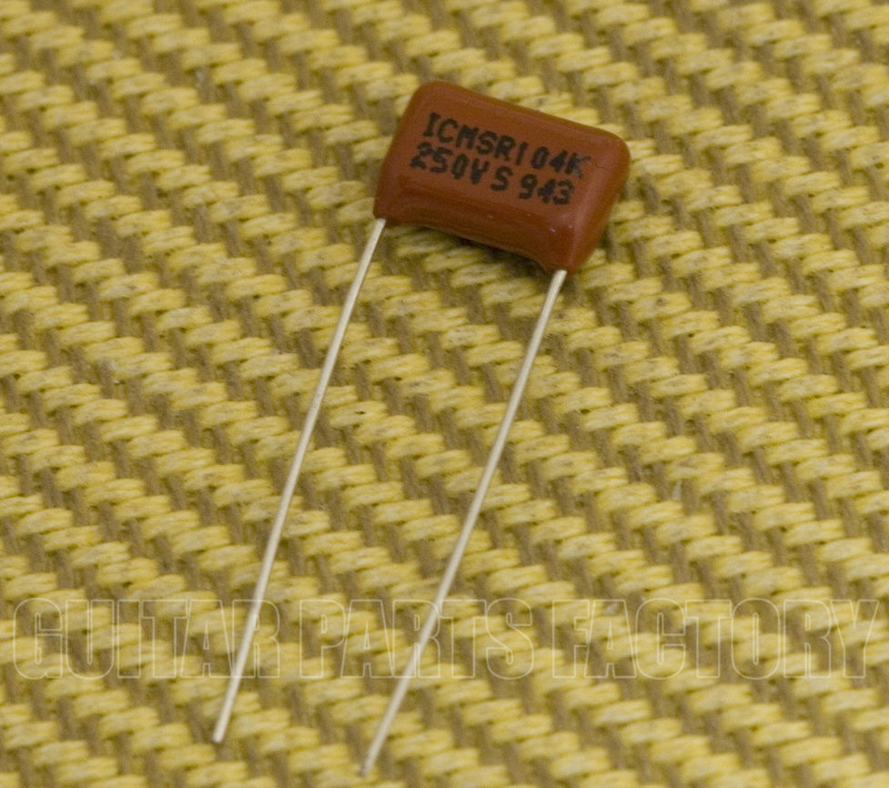 Guitar Parts Factory Genuine Fender Capacitors