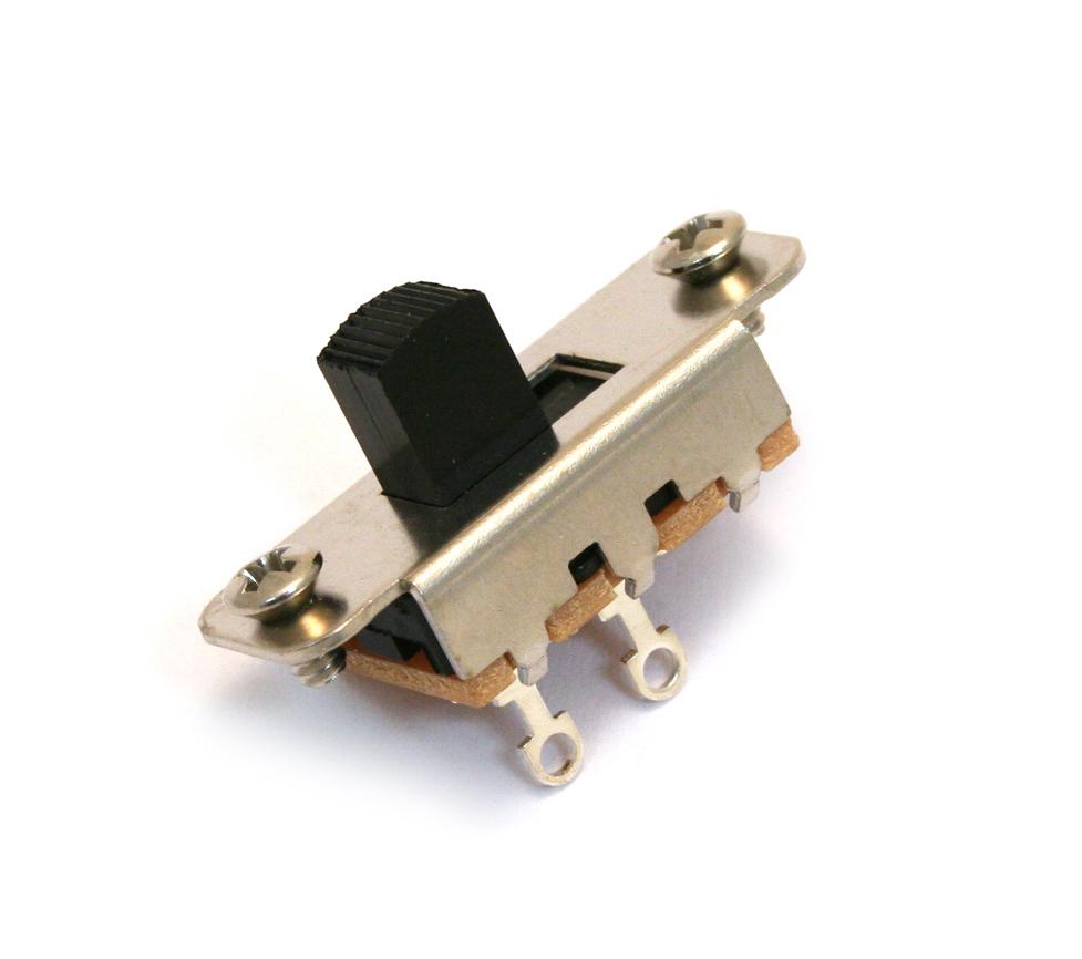 Guitar Parts Factory Fender Switches 2 Pole 3 Way Slide Switch For Jaguar