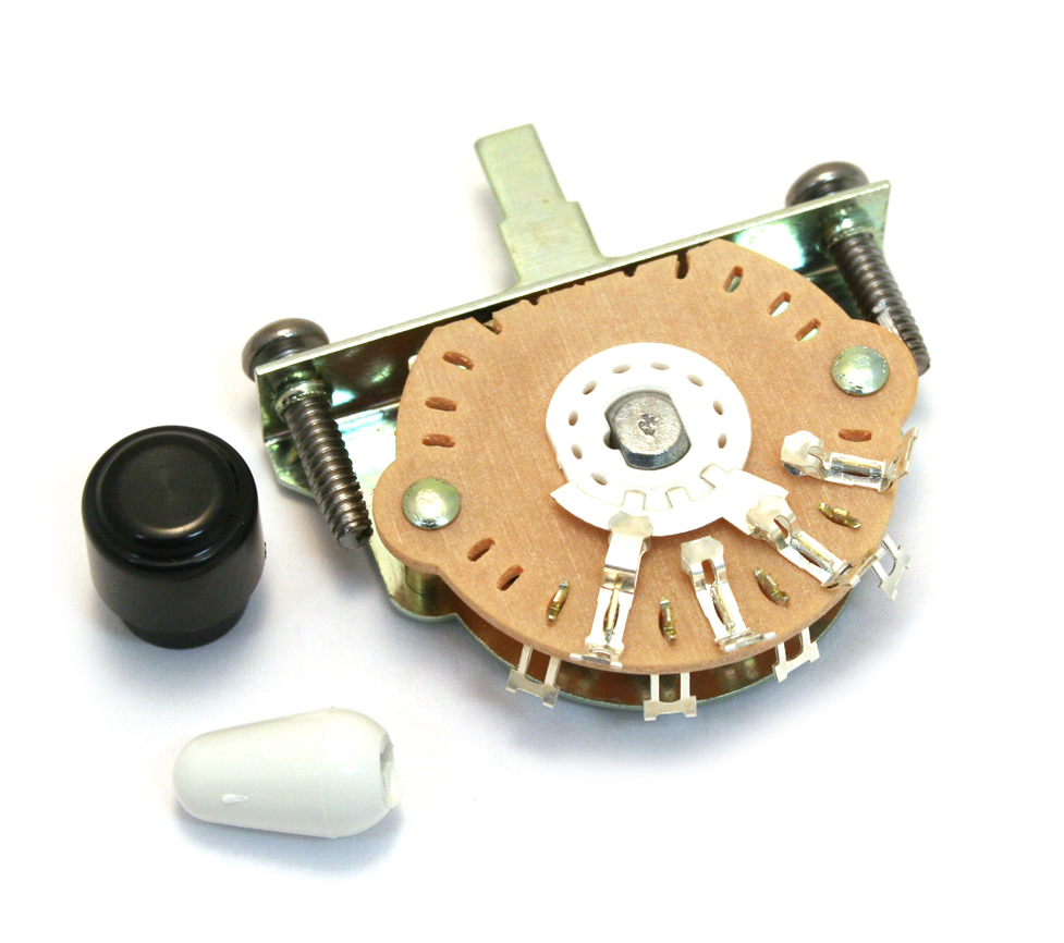 NEW Genuine Fender 3-Way Pickup Selector Switch For Blacktop Tele 008-1152-000
