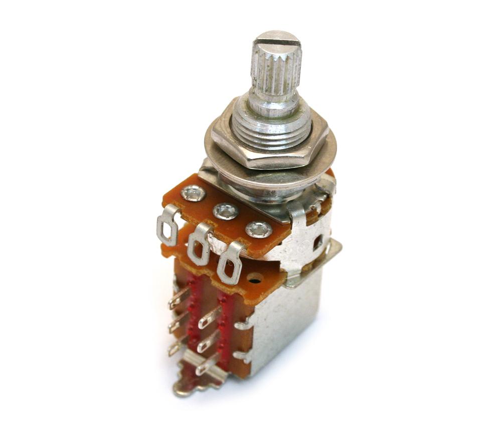 Guitar Parts Factory Fender Potentiometers Push Pull Pot Wiring Diagram Blender Jaguar 099 2257 000 250k Split Shaft