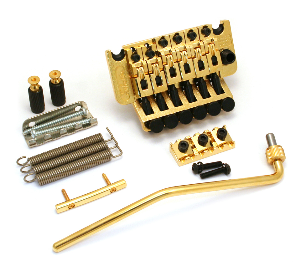 "Gold Genuine Schaller Germany Floyd Rose R3 1-11//16/"" Locking Nut"