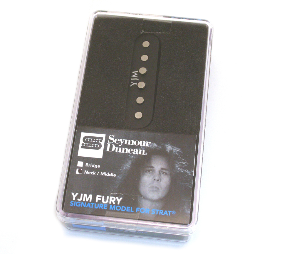 guitar parts factory  yjm fury seymour duncan pickups
