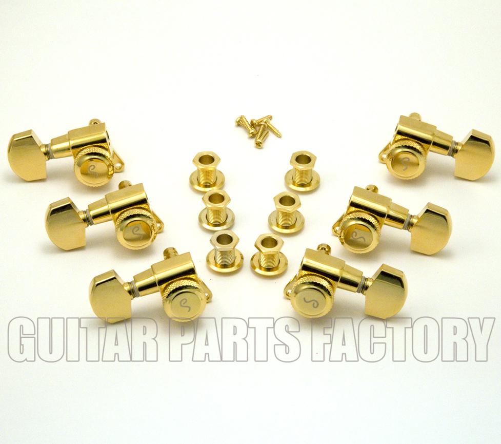 Schaller Locking Tuners Gold Schaller Gold Locking 3 3